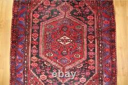 Traditional Vintage Wool Handmade Classic Oriental Area Rug Carpet 215X 135cm