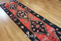 Traditional Vintage Wool Handmade Classic Oriental Area Rug Carpet 220 X 63 cm