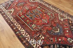 Traditional Vintage Wool Handmade Classic Oriental Area Rug Carpet 235 X 135 cm