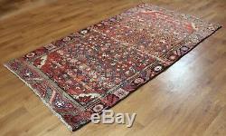 Traditional Vintage Wool Handmade Classic Oriental Area Rug Carpet 240 X 103 cm