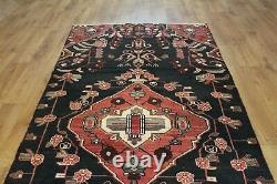 Traditional Vintage Wool Handmade Classic Oriental Area Rug Carpet 254 X 107cm