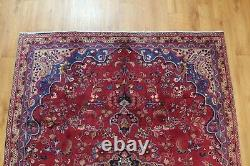Traditional Vintage Wool Handmade Classic Oriental Area Rug Carpet 276x180 cm