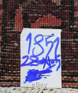 Traditional Vintage Wool Handmade Classic Oriental Area Rug Carpet 280X105cm