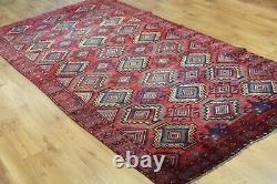 Traditional Vintage Wool Handmade Classic Oriental Area Rug Carpet 282X 152 cm
