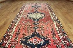 Traditional Vintage Wool Handmade Classic Oriental Area Rug Carpet 290cmX100cm