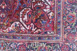 Traditional Vintage Wool Handmade Classic Oriental Area Rug Carpet 312 X 220 cm