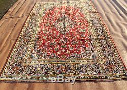 Traditional Vintage Wool Handmade Classic Oriental Area Rug Carpet 320 X 198 cm