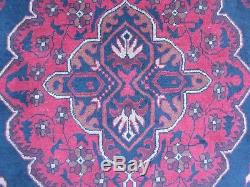 Turkish Rug, Persian Afghan Rug, Vintage Nomadic Rug, Wool Hand-Made 149193 cm