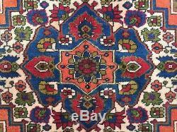 Turkish Vintage Prayer Rug vegetable dye 228x166cm Persian Afghan Tribal boho