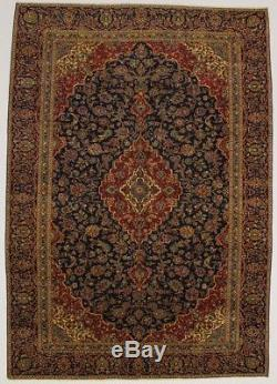 Unusual S Antique Gold-Washed Vintage Rare Persian Rug Oriental Area Carpet 9X13