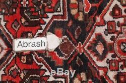 VINTAGE 13' LONG Runner Hamedan Persian Oriental Hand-Knotted Rug 12' 7 x 3' 5