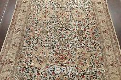 VINTAGE All-Over Floral MUTED Persian Oriental Hand-Knotted WOOL 10x13 LARGE Rug