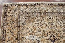 Vintage 10X15 Persan Kasha Area Rug 1960s Hand-Knotted Wool Carpet (9.10 x 14.7)