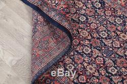Vintage 20' Stair Runner Herati Oriental Hand-Knotted 3 x 20 Wool Runner Rug