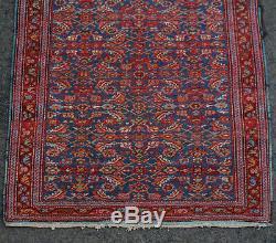 Vintage Afghan Bokhara Persian Rug 164.2 x 116.2 cm Bukhara Red Rust Orange