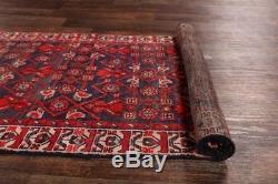 Vintage All-Over Pattern Floral Runner 3x13 Hamadan Persian Oriental Wool Rug