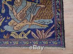 Vintage Baluchi Rug, 185x116 Cm, Afghan Rug, Handmade, Tribal Persian Rug Wool