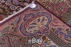 Vintage Breathtaking Animal Pictorial 10x13 Kashmar Persian Oriental Area Rug