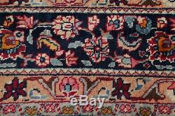 Vintage Floral Oriental Kashmar Area Rug Wool Hand-Knotted Medallion Carpet 7x10