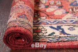 Vintage Floral Runner 3x10 Lilian Hamedan Persian Oriental Rug 9' 7 x 3' 4