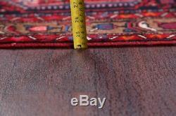 Vintage Geometric Tribal 4x6 Zanjan Persian Oriental Area Rug Wool 6' 4 x 3' 9