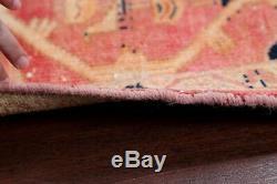 Vintage Geometric Tribal Bakhtiari Persian Area Rug Oriental Wool Carpet 3'x5
