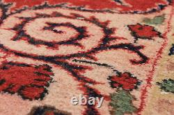 Vintage Hand-Knotted Carpet 5'8 x 9'1 Traditional Oriental Wool Area Rug