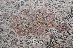 Vintage John Lewis Persian Bidjar wool rug 9ft x 6ft 7. Nice condition