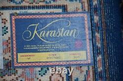 Vintage Karastan Rug 700 Series 747 Indigo Tarbiz 5.9x9 #31121