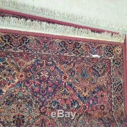 Vintage Karastan Rug Multicolor Panel Kirman 5' 4 X 4' 4 Design # 717