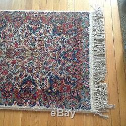 Vintage Karastan Runner Kirman Design Wool Rug 12 By 2 6