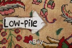 Vintage Kashmar Oriental Area Rug 10x13 Wool Hand-Knotted Floral Carpet