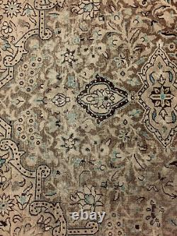 Vintage Oriental Persian Traditional Area Hand Knotted Wool Rug 10 x 7