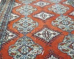Vintage Persian Bokhara Rug 6'6x4'2 (199x128cm Oriental)