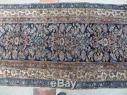 Vintage Persian Caucasian Hall Runner Rug