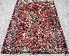 Vintage Persian Heriz Mehmand 5'x8' Handknotted100%wool Pile Rug Gm386