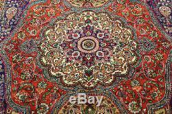 Vintage Persian Handmade Carpet Wool 350 X 260 CM 11.8 X 9 Ft Persian Carpets