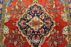 Vintage Persian Handmade Rug Wool 205 X 155 CM Hand Knotted Oriental Rug