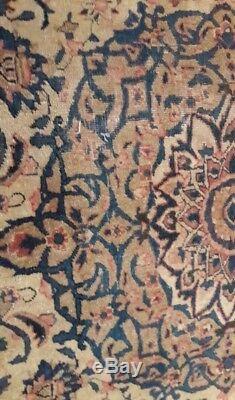 Vintage Persian Large Wool Tabriz Rug