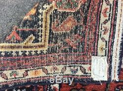 Vintage Persian Rug Wool Handknotted 7 5 X 4 9