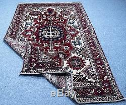 Vintage Persian SHIRAZ QASHGHAI 6'. 5X10'. 5 Handknotted100%Wool Pile Rug GM425
