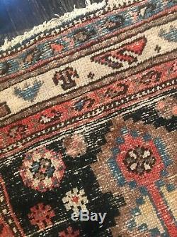 Vintage Rug Kilim 100% Wool Persian Turkish Hand Knotted Area Carpet Rug
