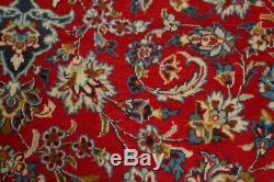 Vintage Traditional Floral Najafabad Oriental Area Rug Hand-made Carpet 10x13