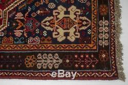 Wonderful Tribal Design Handmade Vintage Persian Area Rug Oriental Carpet 4X8