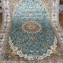 Yilong 6x9 Oriental Living Room Handmade Hand Knotted